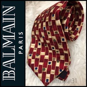 Pierre Balmain Paris Silk Tie